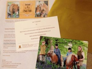 Gift Vouchers from Shetland Pony Club