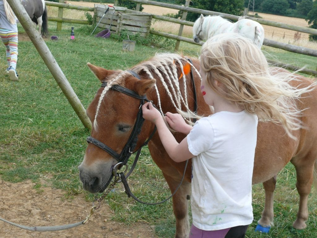 help your child learn to ride a pony course at Shetland Pony Club - try Summer Pony Day Camps