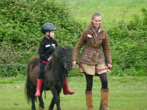 Riding at Shetland Pony Club