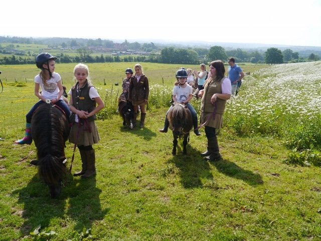 Summer at Shetland Pony Club - all out riding