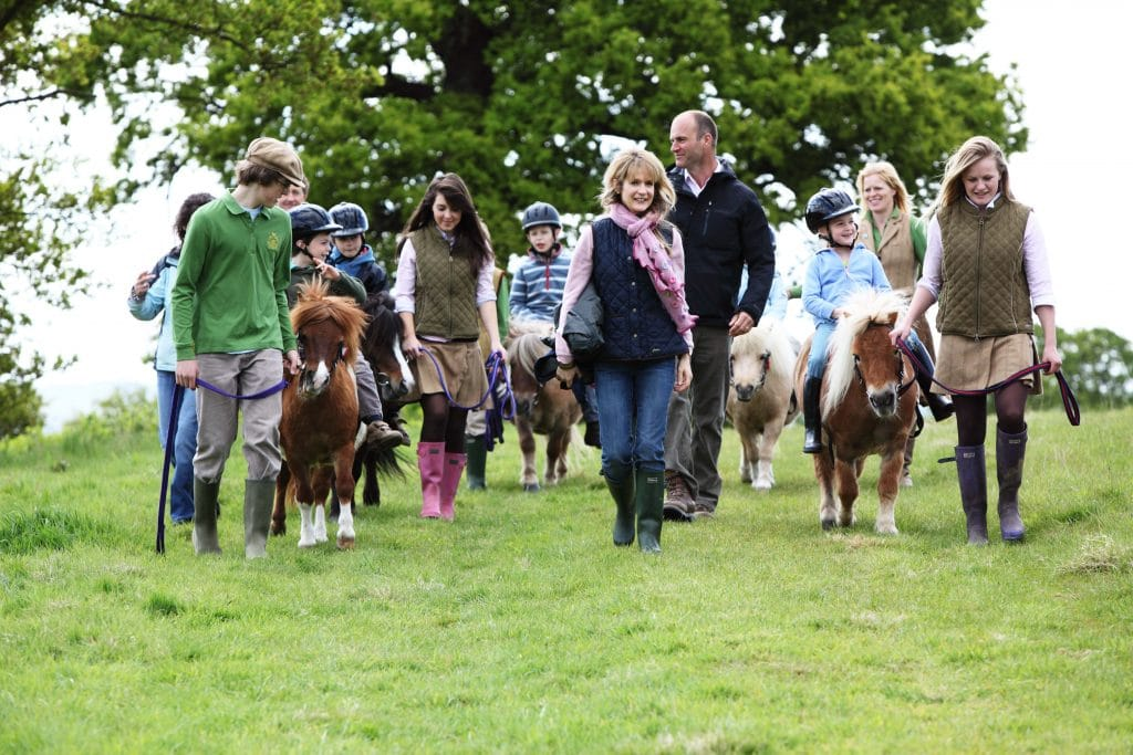 help your child learn to ride a pony course at Shetland Pony Club