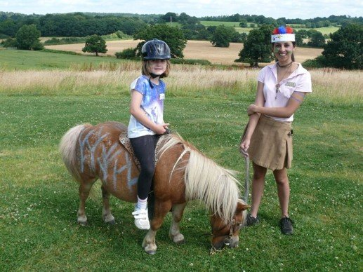 Camp pony fun at Shetland Pony Club