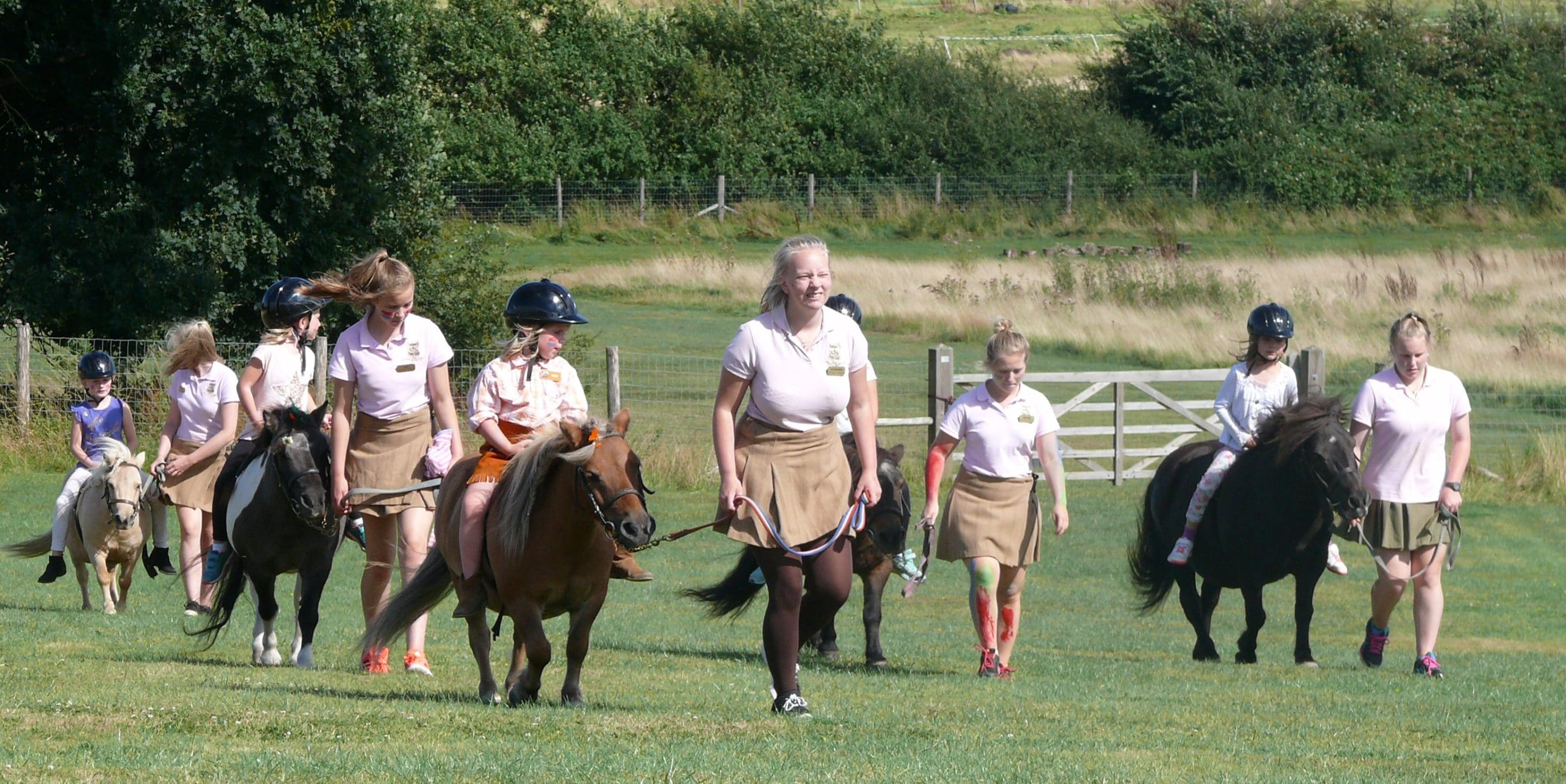 Pony Mornings at Shetland Pony Club
