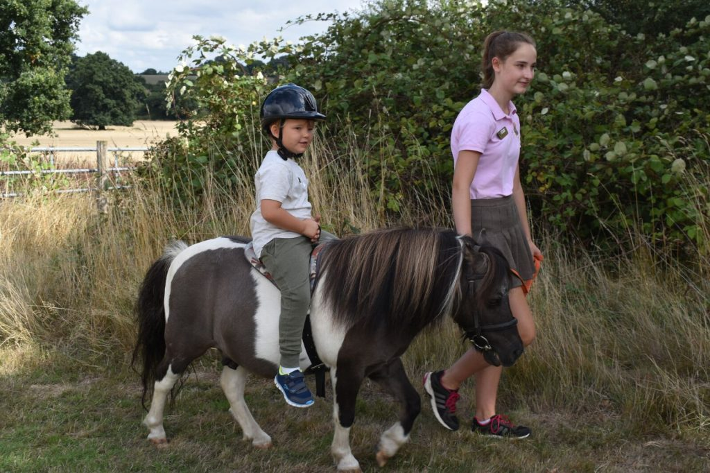 Autumn fun with Nottingham at Shetland Pony Club