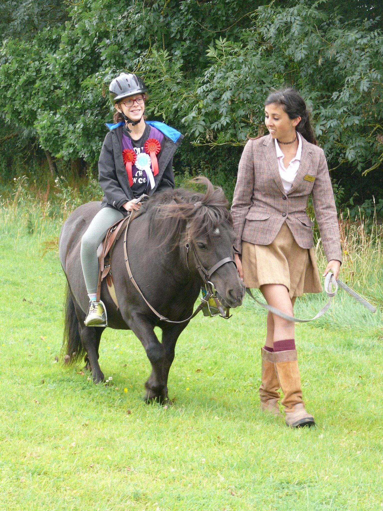 Pony Riding at Shetland Pony Club