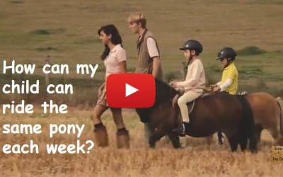 How can I ride the same pony each week?