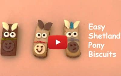 How to make easy Shetland Pony Biscuits & Pony Update