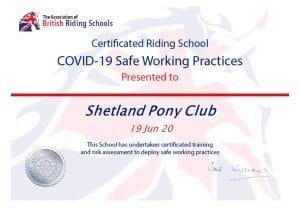 ABRS-COVID-19_Accreditation_Shetland Pony Club